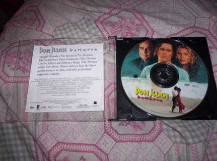 Free: Don Juan Demarco Papa John's Promo DVD (Full Movie