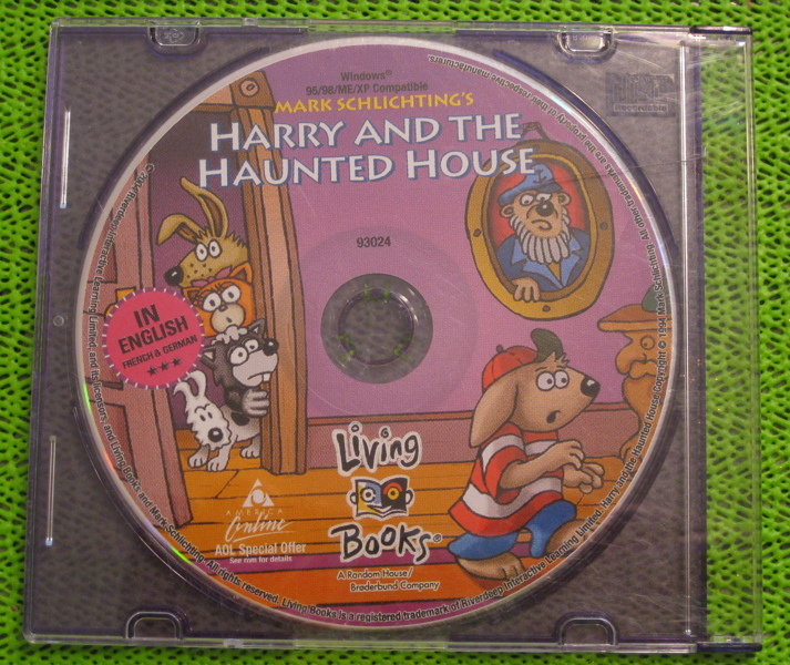 Free harry and the haunted house pc game other video for Classic haunted house novels