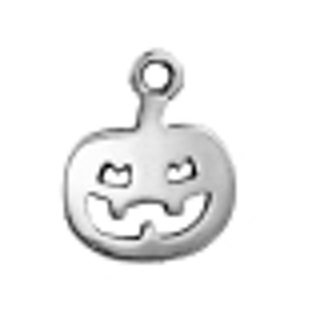 Halloween is Coming! Better Get Your Pumpkin Charm / Pendant NOW!  - Two 14mm