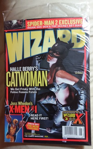 WIZARD Magazine #152 June 2004 Halle Berry as Catwoman Cover