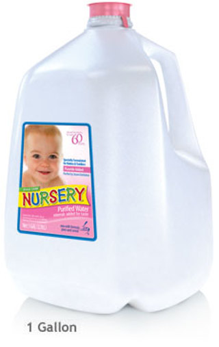 Free Gallon Of Nursery Purified Water W Added