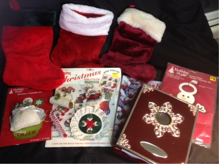 Christmas Assorted Lot - Free Shipping Winner Gets ALL!!