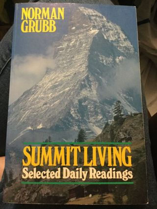 Summit Living, Norman Grubb... (Hard-to-find Vintage)