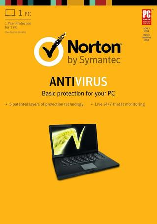 Norton Antivirus 1Year/1PC 366days Worldwide except USA, Canada, Germany, France