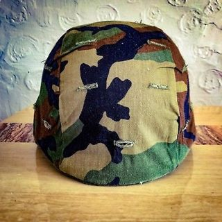 *THIS IS NOT A AIRSOFT HELMET***GREAT CONDITION AUTHENTIC U.S.ARMY KEVLAR HELMET W/COVER AND WEBBING