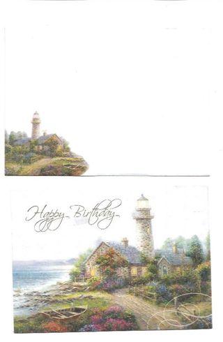 Birthday Card Unused With Envelope