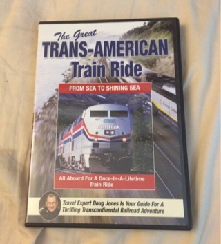 The Great Trans-American Train Ride on dvd