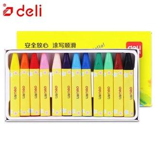 Deli Wax Color Child Safety Non-toxic Pastel 12 Colors Per Box