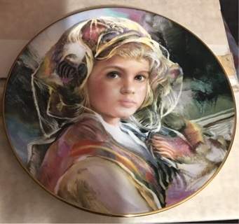 Royal Doulton Juliana Plate #3668/15000 1983