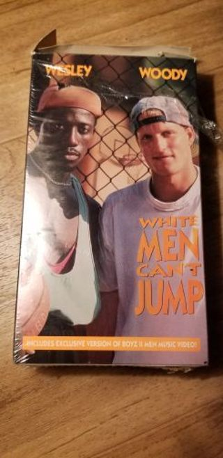 White men can't jump VHS