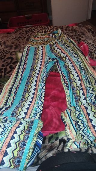 Women lounging pants size m 8-10