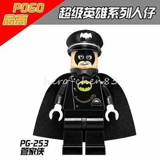 Steward-Man Minifigure DC Comics Alfred Injustice League Building Toys #ty45rtu