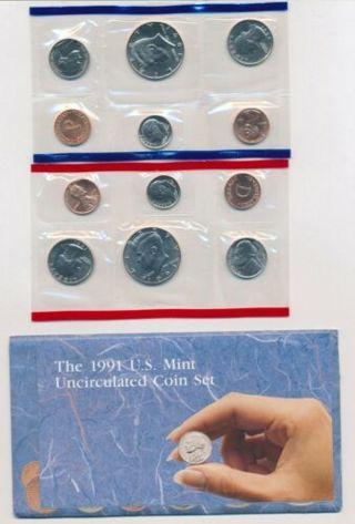 1991 US Mint Set