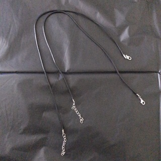 Two Wax rope snake necklace