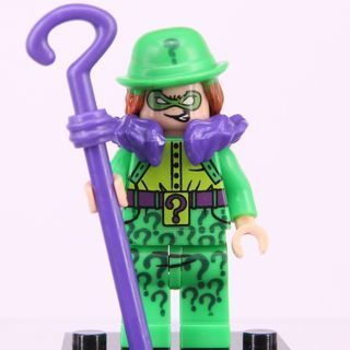 New Classic Riddle Minifigure Building Toy Custom Lego