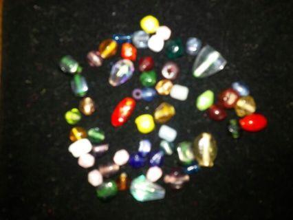 Unique glass beads