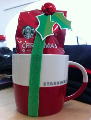 Starbucks Limited Edition Christmas Mug