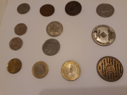 MIXED LOT OF OLD COINS !LOOK!