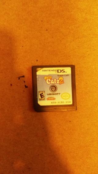 Nintendo ds petz catz game