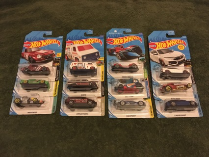 HOTWHEELS 12 MORE LITTLE VEHICLES WITH POSSIBLE MYSTERY BONUS