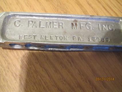 Free: C  PALMER Split-Shot SINKER MOLD #500 VINTAGE - Fishing