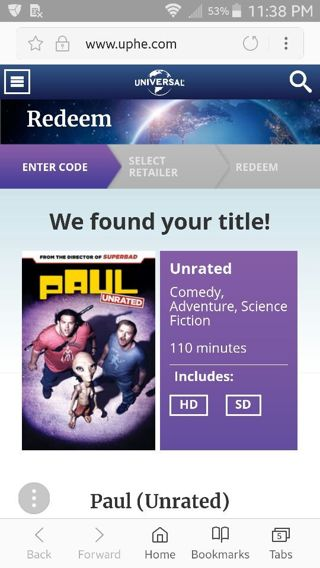 Paul unrated ITUNES