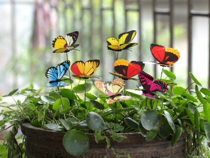 Butterfly Stake Decorations