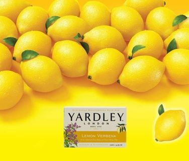 ⭐ 2 BARS YARDLEY LONDON LEMON VERBENA SOAP⭐