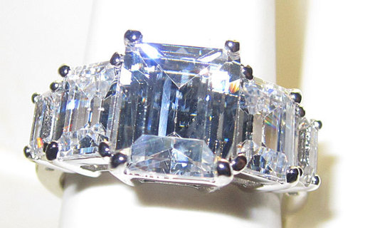 CAMILLA PARKER BOWLES WINDSOR ENGAGEMENT RING NEW SELECT SIZES Bachelorette Bling JEWELRY!!!!