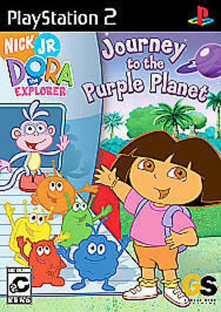 Dora the Explorer: Journey to the Purple Planet (Sony PlayStation 2, 2005)