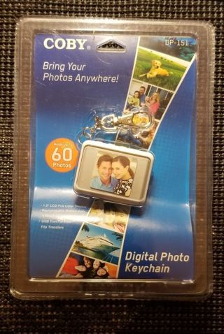 Colby Digital Photo Keychain