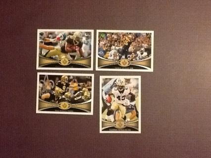 2012 Topps New Orleans Saints Lot