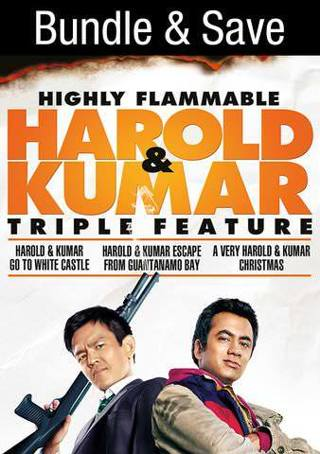 Harold and Kumar Triple Feature- Digital Code Only- No Discs