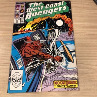The west coast avengers   Marvel comics Issue # 29 Feb 1988