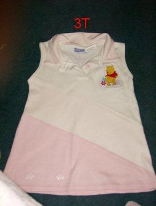 Disney Pooh Bear 3T Girls shirt