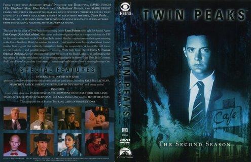 """""""Twin Peaks"""" Season 2 DVD Set- NEW & SEALED! Sherilyn Fenn, David Duchovny, Kyle McLachlan!"""