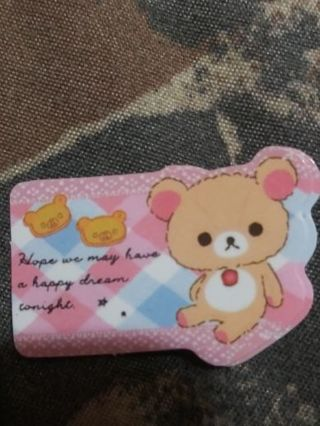 My only Rilakkuma sticker flake No refunds! Good quality! Lowest gins no lower!