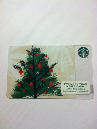 STARBUCKS GIFT CARD 3 Day auction