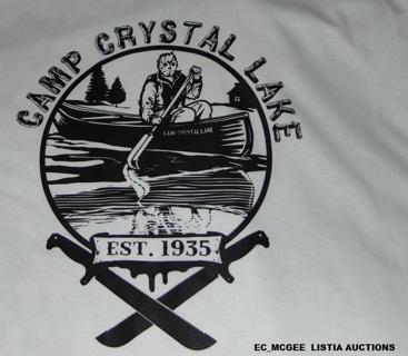 Camp Crystal Lake T-Shirt Adult XL