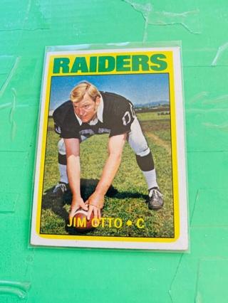 1971 Topps Jim Otto - #86