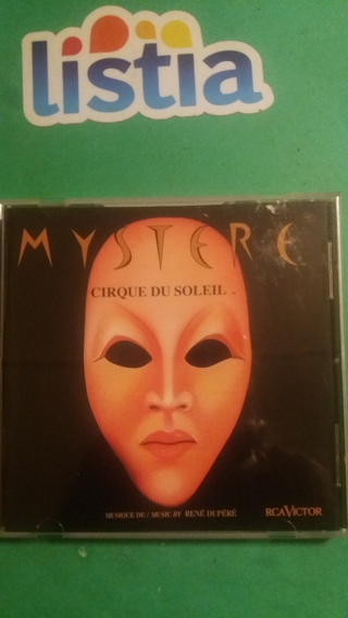 cd  mystere  cirque du soleil  free shipping