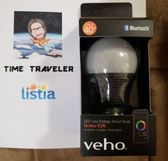 Kasa Bluetooth Smart LED Light Bulb – E26