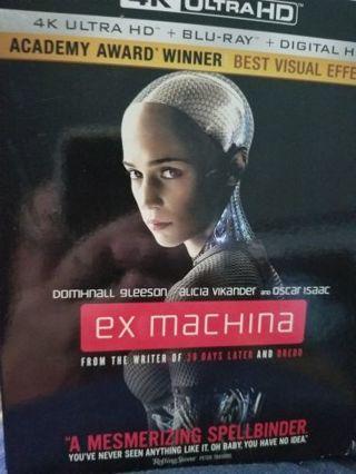 Ex machina uv code