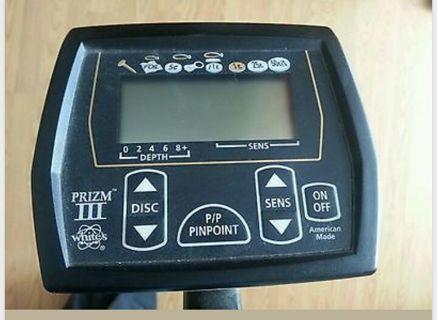 Free Whites Prizm Iii Metal Detector Other Electronics