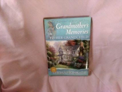 Grandmothers memories hc by thomas kinkade