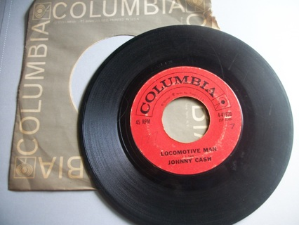 Vintage Johnny Cash 45 LP