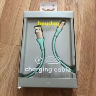 Heyday 6' Charging cable Android