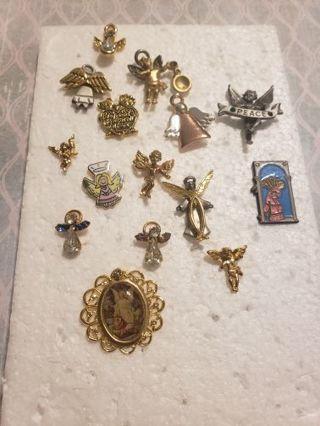 15 piece angel pin ,lot