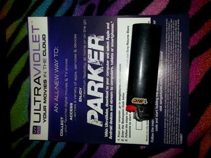 Ultraviolet digital copy of Parker.