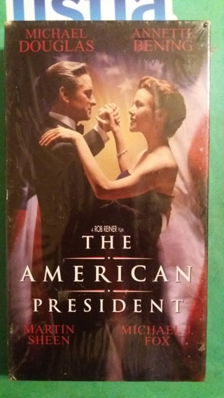 VHS movie  the american president  free shipping